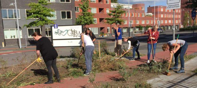 Jongerius Deurwaarders actief voor Het Groene Spoor!
