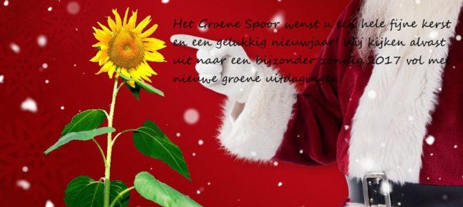 Fijne kerstdagen en een gelukkig nieuwjaar!!
